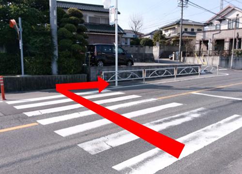名鉄河和線青山駅からの道順⑤